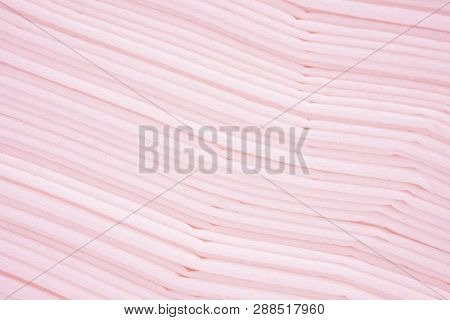 Beautiful Of Line Gradient Pink Pastel Color Abstract Background Of Paper Texture. Contemporary Art.