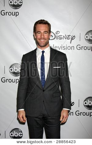 LOS ANGELES - JAN 10:  James Van Der Beek arrives at the ABC TCA Party Winter 2012 at Langham Huntington Hotel on January 10, 2012 in Pasadena, CA