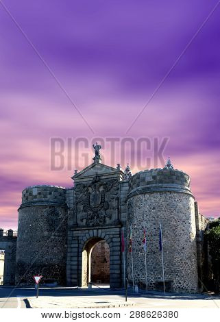 Pureta De Bisagra Nueva, City Gate To Toledo Spain