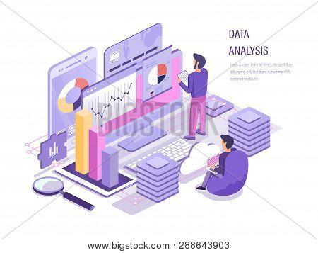 Data Analysis. Analysis Business Working, Data Analytic Of Graphs.
