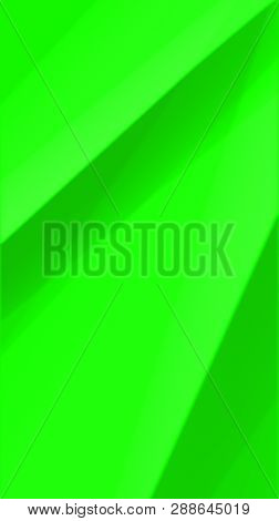 Green Surface Of A Fabric Material, Abstract Art Background. Abstract Art, Abstract Painting, Abstra