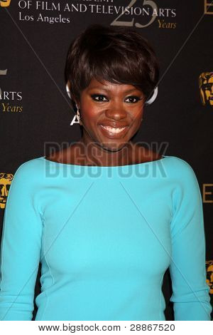 LOS ANGELES - JAN 14:  Viola Davis arrives at  the BAFTA Award Season Tea Party 2012 at Four Seaons Hotel on January 14, 2012 in Beverly Hills, CA