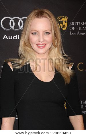 LOS ANGELES - JAN 14:  Wendi McLendon-Covey arrives at  the BAFTA Award Season Tea Party 2012 at Four Seaons Hotel on January 14, 2012 in Beverly Hills, CA