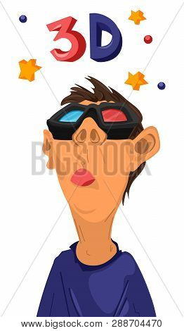 Boy Watching 3d Stars Vector Photo Free Trial Bigstock