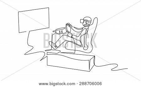 Vr Motion Chair, Vector & Photo (Free Trial)   Bigstock