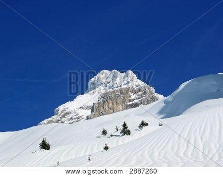 Winter White Mountain