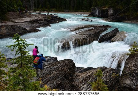 Bragg Creek Upper Falls 1