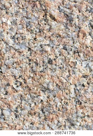 Granite Surface Texture Closeup Background
