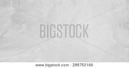 Abstract Grunge White Concrete Background. Exposed Concrete Surface Texture. Wide Angle Background W