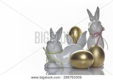 Easter Holiday Concept Designed Background ,copy Space