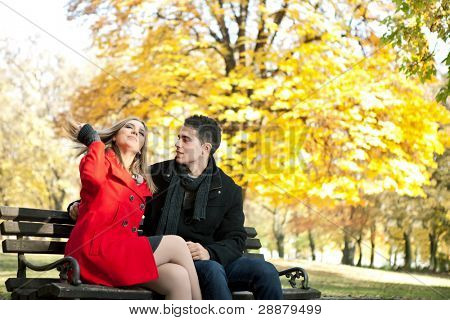 young man courting   pretentious girl, time courtship