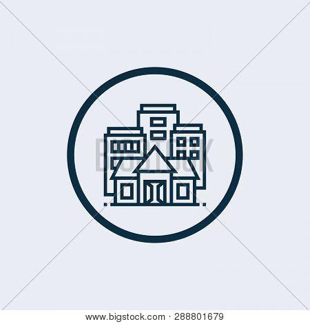 University Icon Isolated On White Background. University Icon Simple Sign. University Icon Trendy An