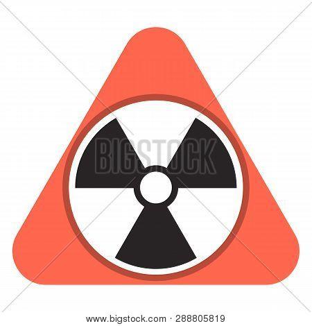 Radon Gas Icon. Cartoon Of Radon Gas Vector Icon For Web Design Isolated On White Background