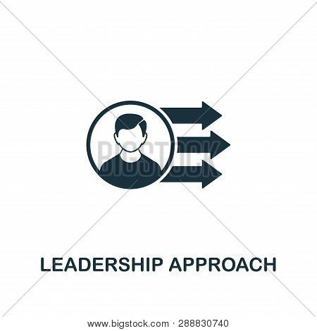 Leadership Approach Icon. Creative Element Design From Risk Management Icons Collection. Pixel Perfe