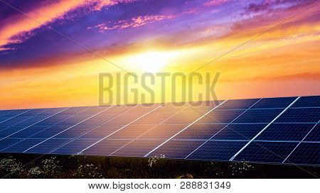 Panels Of Solar Batteries. Panels Of Solar Batteries. Modern Panels Of Solar Batteries. Solar Energy