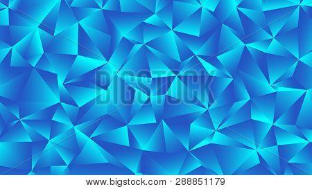 Trendy Cerulean Backdrop. Clear Crystal Blue Bg