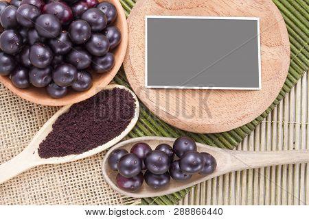 Berries And Acai Powder, Fruit Of Amazonian Origin