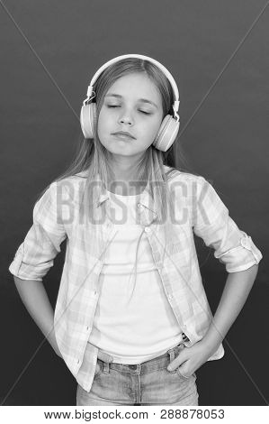 Listen To Music. Beauty And Fashion. Childhood Happiness. Mp3 Player. Childrens Day. Audio Technolog