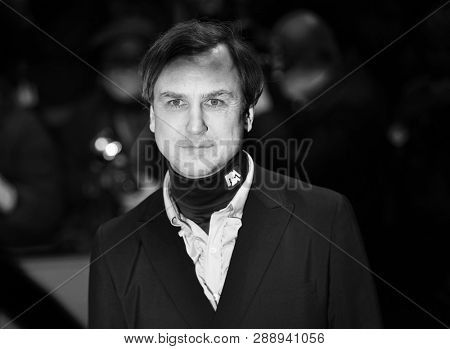 Lars Eidinger attends the 'The Kindness Of Strangers' premiere during the 69th Berlinale International Film Festival Berlin on February 07, 2019 in Berlin, Germany.