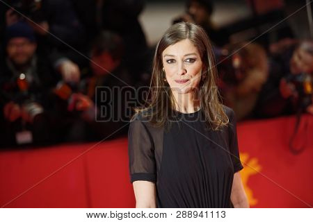 Actress Alexandra Maria Lara attends the 'The Kindness Of Strangers' premiere during the 69th Berlinale International Film Festival Berlin on February 07, 2019 in Berlin, Germany.