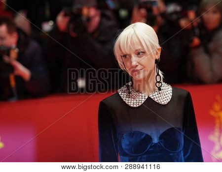 Andrea Riseborough attends the 'The Kindness Of Strangers' premiere during the 69th Berlinale International Film Festival Berlin at Berlinale Palace on February 07, 2019 in Berlin, Germany.
