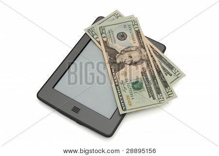 Tacto E-reader con dinero