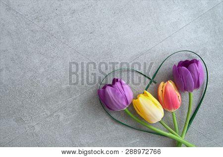 Heart Shape Tulips