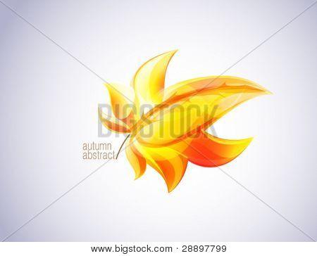Autumn eps10 leaf