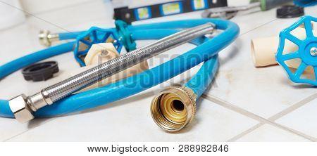 Plumbing repair tools.