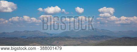 Summits Of Grampians Region Panorama - Ben Lawers, Meall Nan Tarmachan, Meall Ghaordaidh, Ben More A