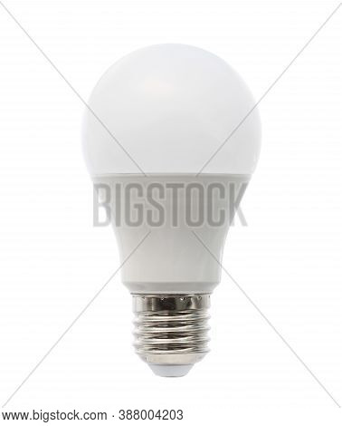 Led Light Bulb (with Clipping Path) Isolated On White Background
