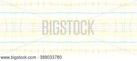 Yellow Plaid Pattern. Seamless Picnic Fabric. Buffalo Kilt. Rustic Celtic Flannel. Fall Plaid Patter