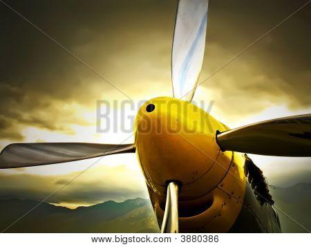 P51D Propeller