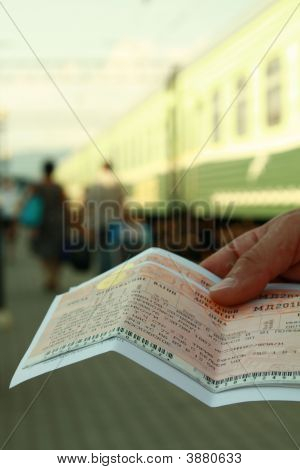 Tickets at the Train Station