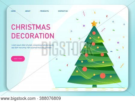 Christmas decoration element. Christmas tree. Vector illustration . Christmas sale background. Merry Christmas sale card vector Illustration. Christmas background. Merry Christmas card vector Illustration.Christmas. Christmas Vector. Christmas Background.