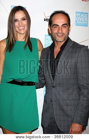 LOS ANGELES - OCT 26:  Ana Alexander, Navid Negahban arrives at the 41st Annual Peace Over Violence Humanitarian Awards at Beverly Hills Hotel on October 26, 2012 in Beverly Hills, CA