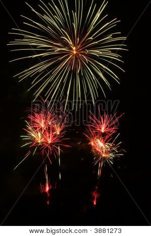 Colored Fireworks