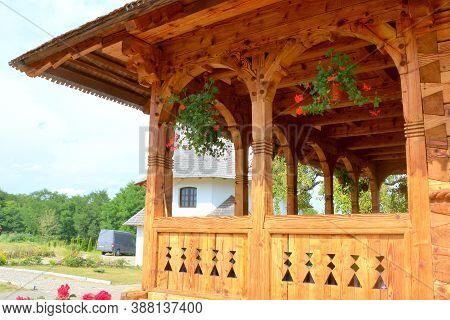 Monastery Trei Ierarhi, In Borsa , Maramures, Transylvania.