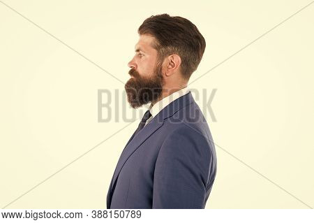 Grow Mustache Or Beard. Facial Hair. Freshly Trimmed Beard. Boost Your Self-confidence. Brutal Matur
