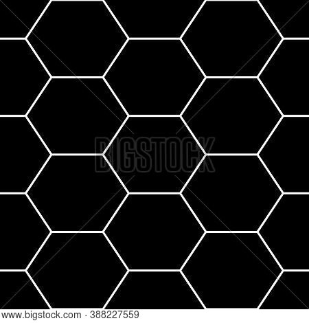 Hexagons. Honeycomb. Mosaic. Grid Background. Ancient Ethnic Motif. Geometric Grate Wallpaper. Parqu
