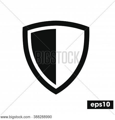 Protect Icon, Shield Vector, Secure Vector, Guard