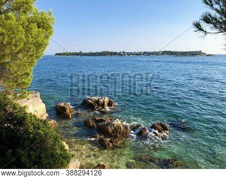 Golden Cape Forest Park Zlatni Rt, Rovinj (rovigno) - Istria, Croatia / Park šuma Zlatni Rt (punta C