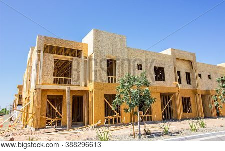 Brand New Construction Of Corner Two Story Apartments