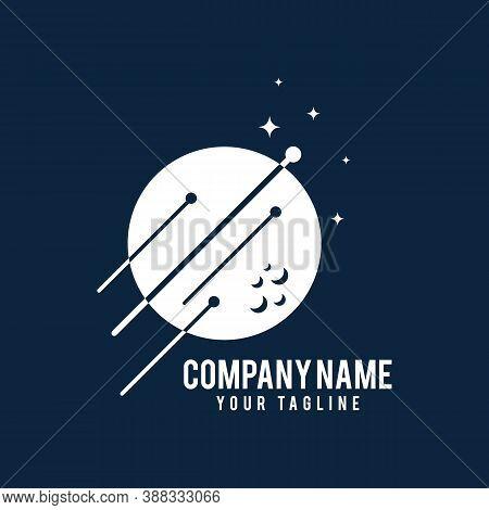 Orbit Tech Logo Template Design. Creative Vector Emblem, For Icon Or Design Concept.