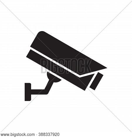 Security Camera Vector Icon For Graphic Design, Logo, Web Site, Social Media, Mobile App, Ui