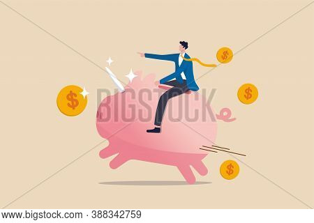 Financial, Business Opportunity To Success In Red Ocean Competitors Or Winner Mutual Fund Or Stock I