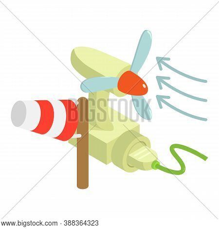 Electricity Consumption Icon. Isometric Illustration Of Electricity Consumption Vector Icon For Web