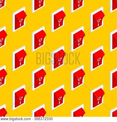 Switch Pattern Seamless. Toggle Background. Vector Texture