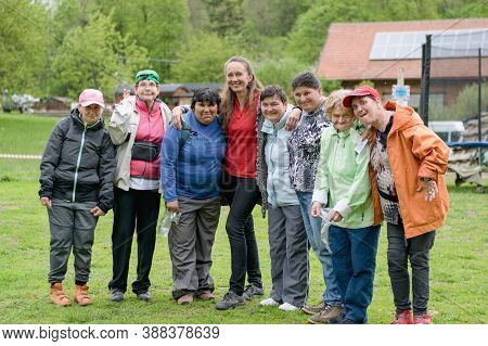 Rybna Nad Zdobnici, Czech Republic, 11.5.2019 - Day Of Smiles, Beneficent Charity Happening For Hand