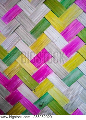 Bamboo Texture Background Or Bamboo Craft Backgrounds.